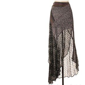 Free people border country skirt